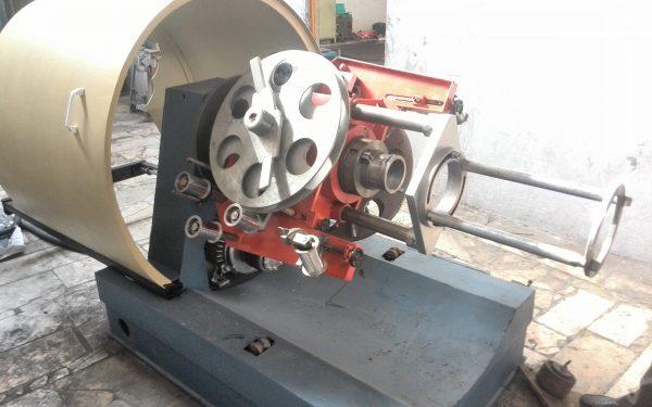 دستگاه نوار زن فولادی سیم و کابل